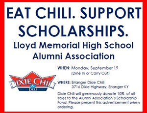 Lloyd Scholarship flyer