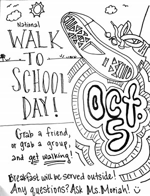 National Walk to School Day October 5