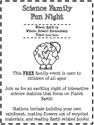 April Family Night