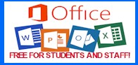 Office free for students and staff